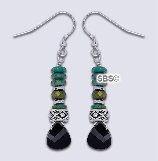 Swarovski Earring Design